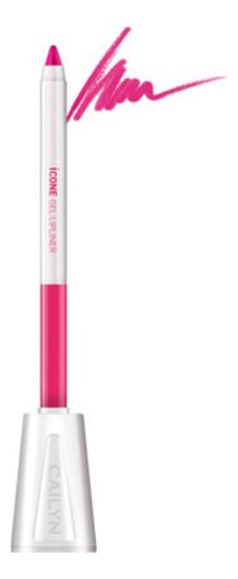 Карандаш для губ с точилкой ICone Gel LipLiner 1,2г: L03 Magenta карандаш для глаз cailyn icone gel eyeliner with sharpner holder e03 gem stone 1 2 гр