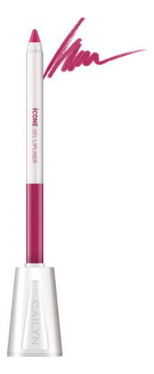 Карандаш для губ с точилкой ICone Gel LipLiner 1,2г: L04 Sweet Plum карандаш для глаз cailyn icone gel eyeliner with sharpner holder e03 gem stone 1 2 гр