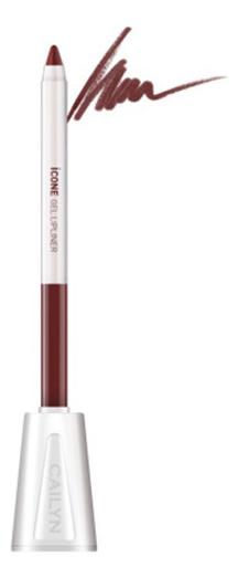 Карандаш для губ с точилкой ICone Gel LipLiner 1,2г: L07 Mocha карандаш для глаз cailyn icone gel eyeliner with sharpner holder e03 gem stone 1 2 гр