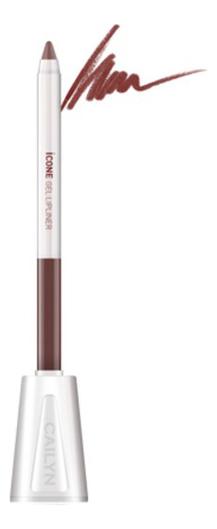 Карандаш для губ с точилкой ICone Gel LipLiner 1,2г: L08 Maple карандаш для глаз cailyn icone gel eyeliner with sharpner holder e03 gem stone 1 2 гр