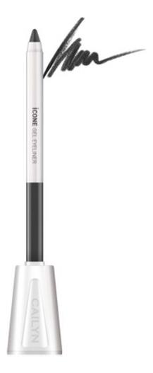 Карандаш для глаз с точилкой ICone Gel EyeLiner 1,2г: E02 Iron карандаш для глаз cailyn icone gel eyeliner with sharpner holder e03 gem stone 1 2 гр