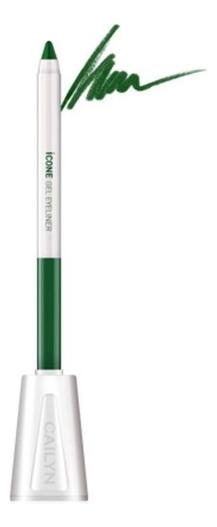 Карандаш для глаз с точилкой ICone Gel EyeLiner 1,2г: E04 Sap Green карандаш для глаз cailyn icone gel eyeliner with sharpner holder e03 gem stone 1 2 гр