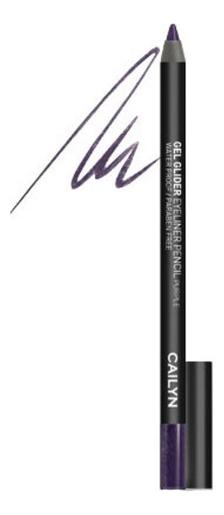 Гелевый карандаш для глаз Gel Glider Eyeliner Pencil 1,2г: 05 Purple карандаш для глаз cailyn icone gel eyeliner with sharpner holder e03 gem stone 1 2 гр