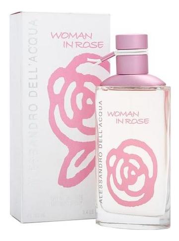 Фото - Alessandro Dell` Acqua Woman In Rose: туалетная вода 100мл сумка alessandro birutti alessandro birutti mp002xw1hyrj