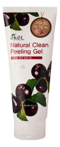 Пилинг-скатка для лица с экстрактом ягод асаи Acai Berry Natural Clean Peeling Gel 180мл: Пилинг-скатка 180мл пилинг скатка с экстрактом киви farmstay all in one whitening peeling gel kiwi 180мл