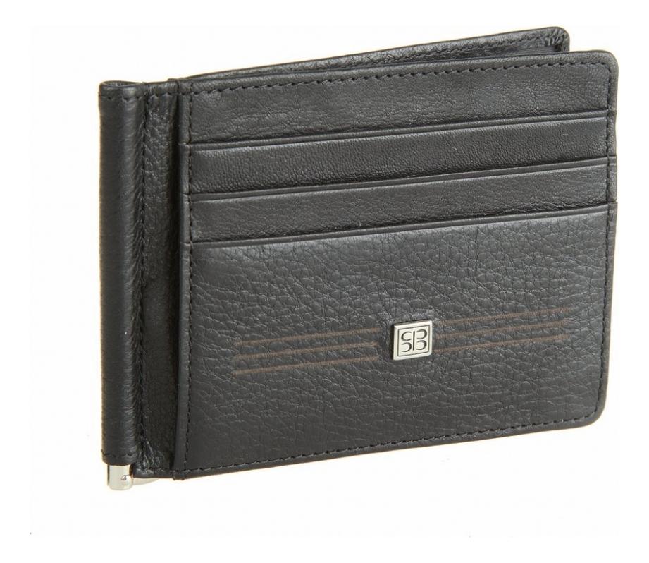 Портмоне с зажимом West Black 2342 (черное) кошельки бумажники и портмоне sergio belotti 1827 west black