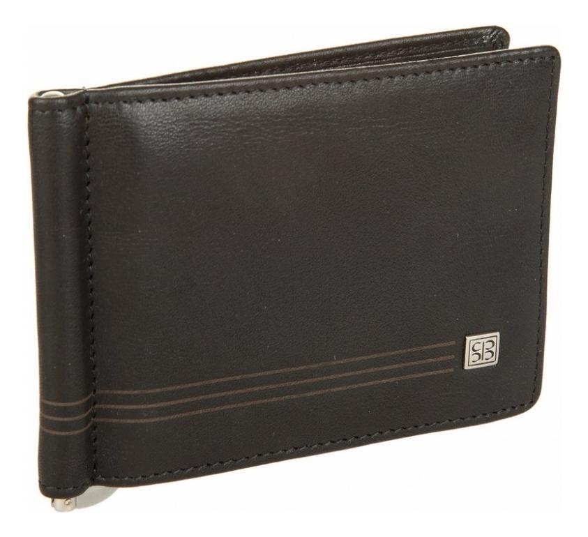 Портмоне с зажимом West Black 2312 (черное) кошельки бумажники и портмоне sergio belotti 1827 west black