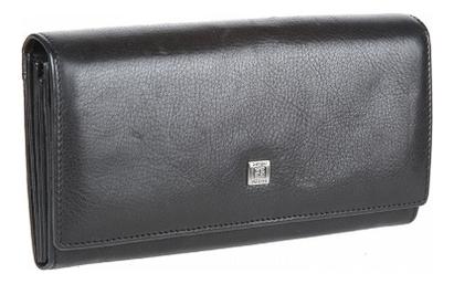 Кошелек женский West Black 1164 (черный) кошелек женский labbra цвет черный l053 1442