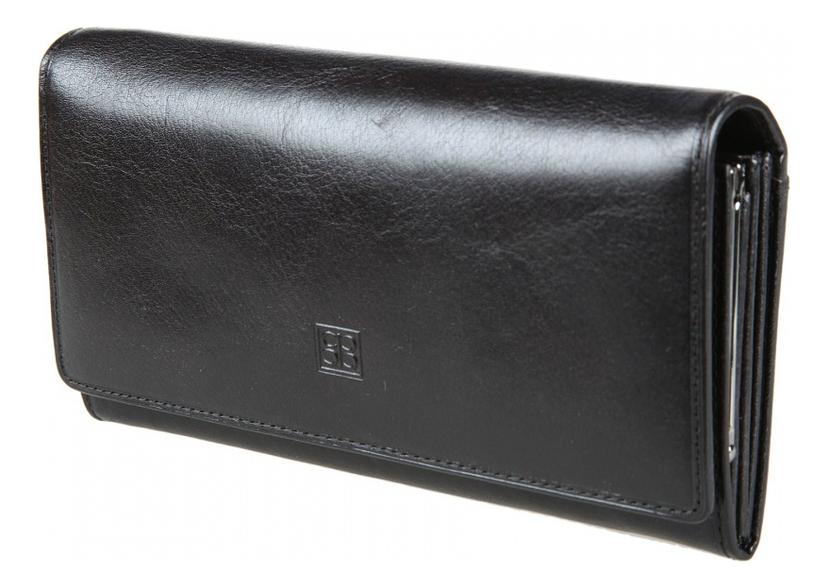 Кошелек женский Milano Black 1122 (черный) кошелек женский labbra цвет черный l053 1442