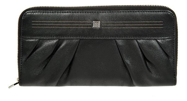 Кошелек женский West Black 3160 (черный) кошелек женский labbra цвет черный l053 1442