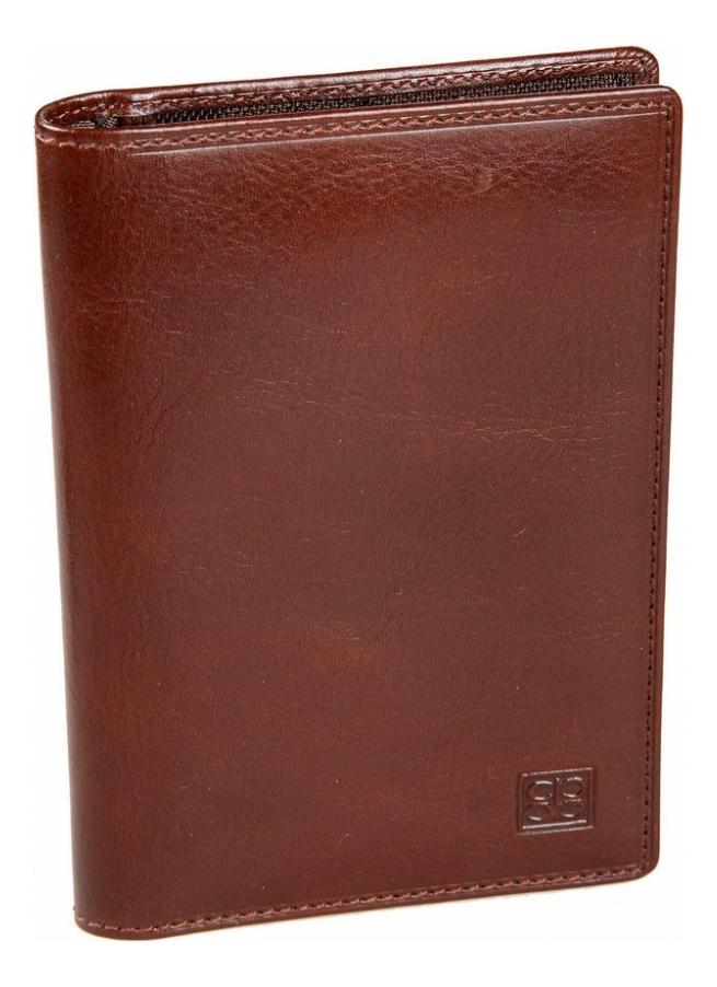 Обложка для автодокументов Milano Brown 1423 (коричневая)