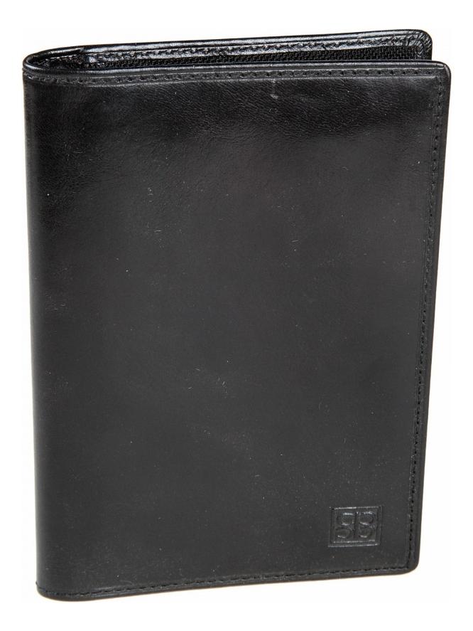 Обложка для автодокументов Milano Black 1423 (черная)