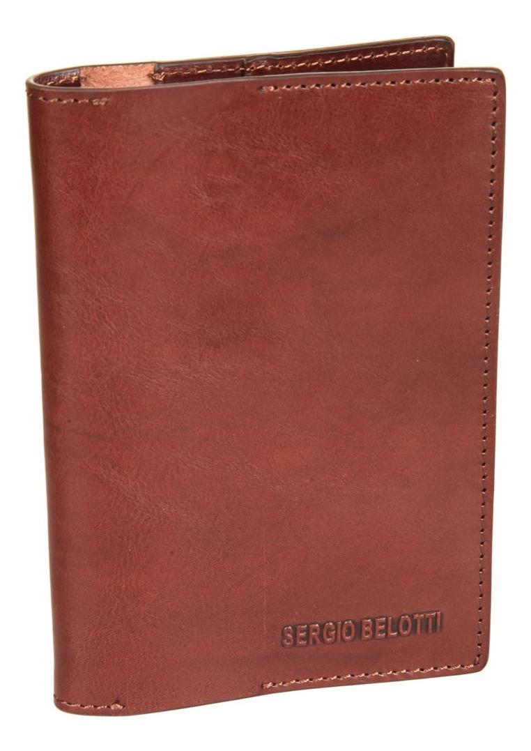 Обложка для паспорта Irido Brown 3550 (коричневая)