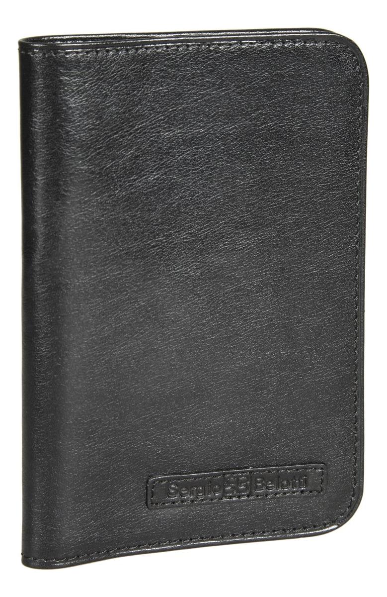 Обложка для паспорта Ancona Black 1597 (черная)