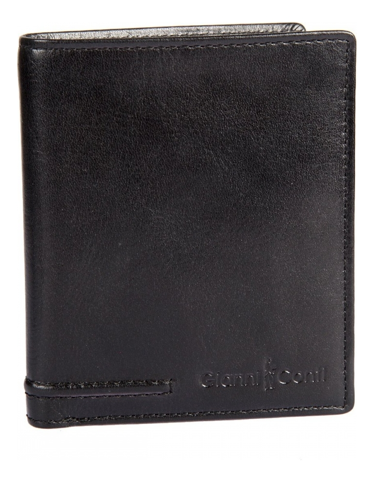 Портмоне Black 707105 (черное) coin purse gianni conti 707105 black