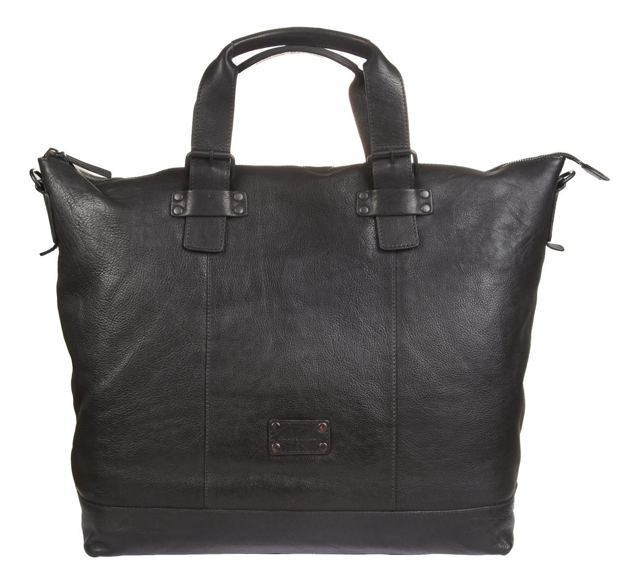 Дорожная сумка Black 1132074 (черная) кожаные сумки gianni conti 1482307 black