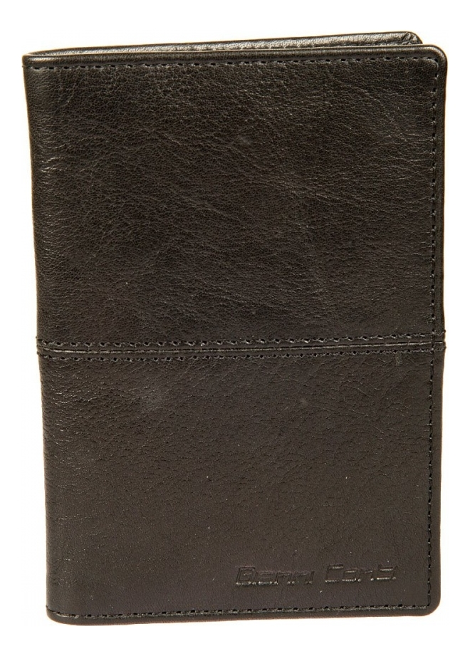 Обложка для автодокументов Black 1137463E (черная) coin purse gianni conti 707105 black