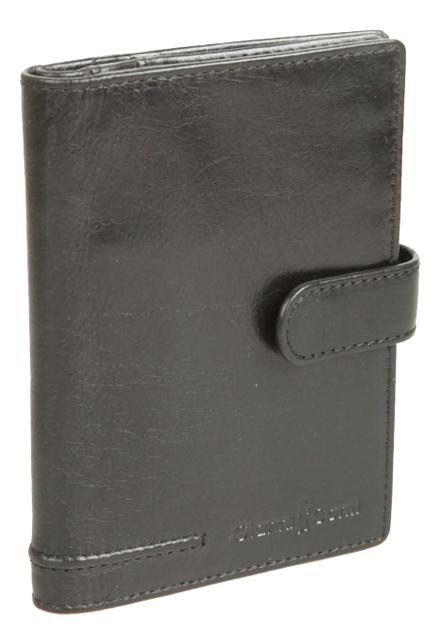 Обложка для документов Black 708454 (черная) coin purse gianni conti 707105 black