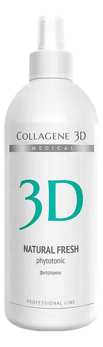 Фитотоник для всех типов кожи лица Natural Fresh Phytotonic Professional Line 500мл pronight fresh line