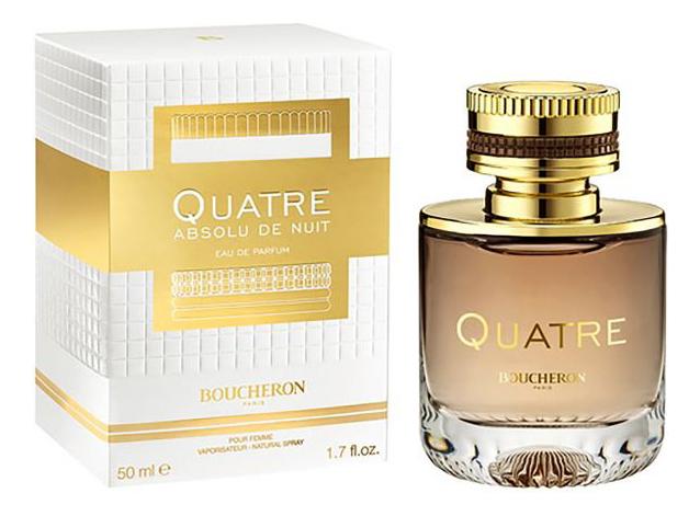 Boucheron Quatre Absolu De Nuit Pour Femme: парфюмерная вода 50мл