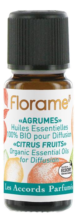 цены Наполнитель для аромаламп и диффузора Huiles Essentielles Agrumes 10мл (цитрусовые)