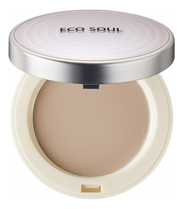 Пудра для лица Eco Soul UV Sun Pact SPF50+ PA++++ 11г: 23 Natural Beige blood pact