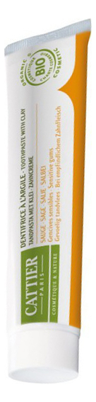 Зубная паста для чувствительных десен Dentifrice A L'argile Sauge 75мл (шалфей) инкубатор covina super 524 a