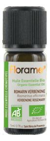 Эфирное масло Huile Essentielle Romarin Verbenone 5мл (розмарин вербенон) эфирное масло huile essentielle lemongrass 10мл лемонграсс