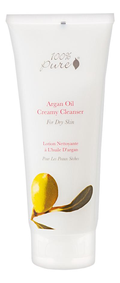 Органическая очищающая крем-пенка для лица с аргановым маслом Argan Oil Creamy Cleanser 100мл крем для лица argan oil argan oil ar041lwsju89