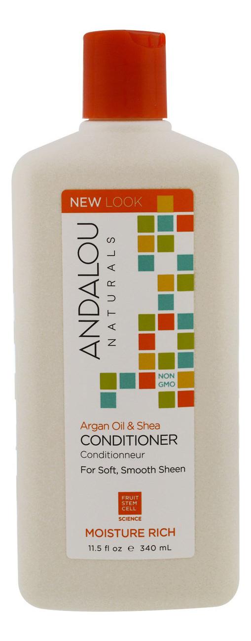 Кондиционер для увлажнения волос Moisture Rich Argan Oil & Shea Conditioner 340мл (масло арганы и ши): Кондиционер 340мл антигель дизельный eltrans 340мл концентрат