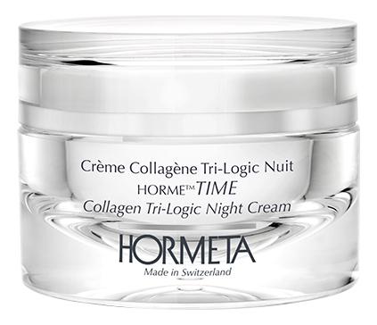 Ночной коллагеновый крем для лица тройного действия ОрмеТАЙМ Creme Collagene Tri-Logic Nuit 50мл шампунь коллагеновый kativa
