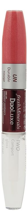 Блеск для губ DuoLuxe Lipgloss 2*3,5мл: Honey Pink clarins 762 pop pink