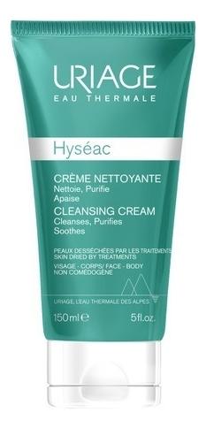 Крем для лица очищающий Hyseac Creme Nettoyante 150мл uriage isofill creme focus rides