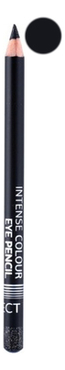 Карандаш для глаз Intense Colour Eye Pencil Long Lasting 1,2г: Glitter Black карандаш для глаз long lasting eye pencil 0 28г 01 black fever