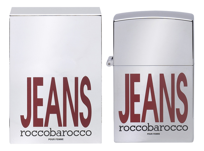 Roccobarocco Jeans Pour Femme: парфюмерная вода 75мл пиджак бархат roccobarocco