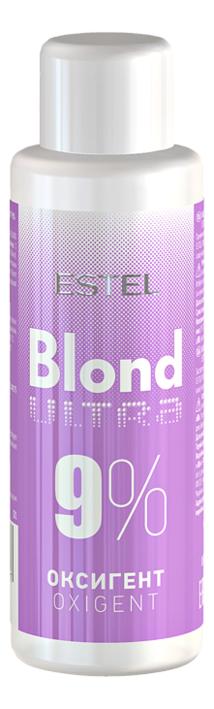 Оксигент для окрашивания волос Blond Ultra Oxigent 60мл: Оксигент 9%