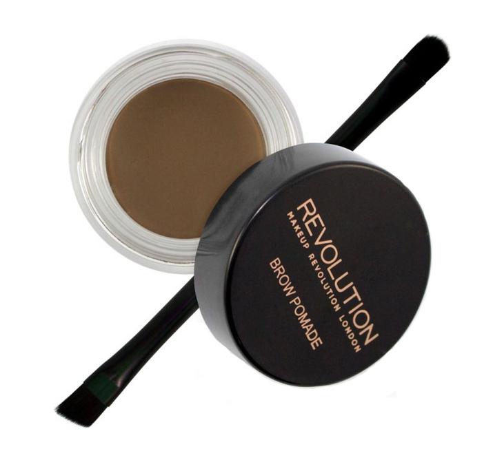 Помада для бровей Brow Pomade 2,5г: Medium Brown makeup revolution brow pomade dark brown помадка для бровей