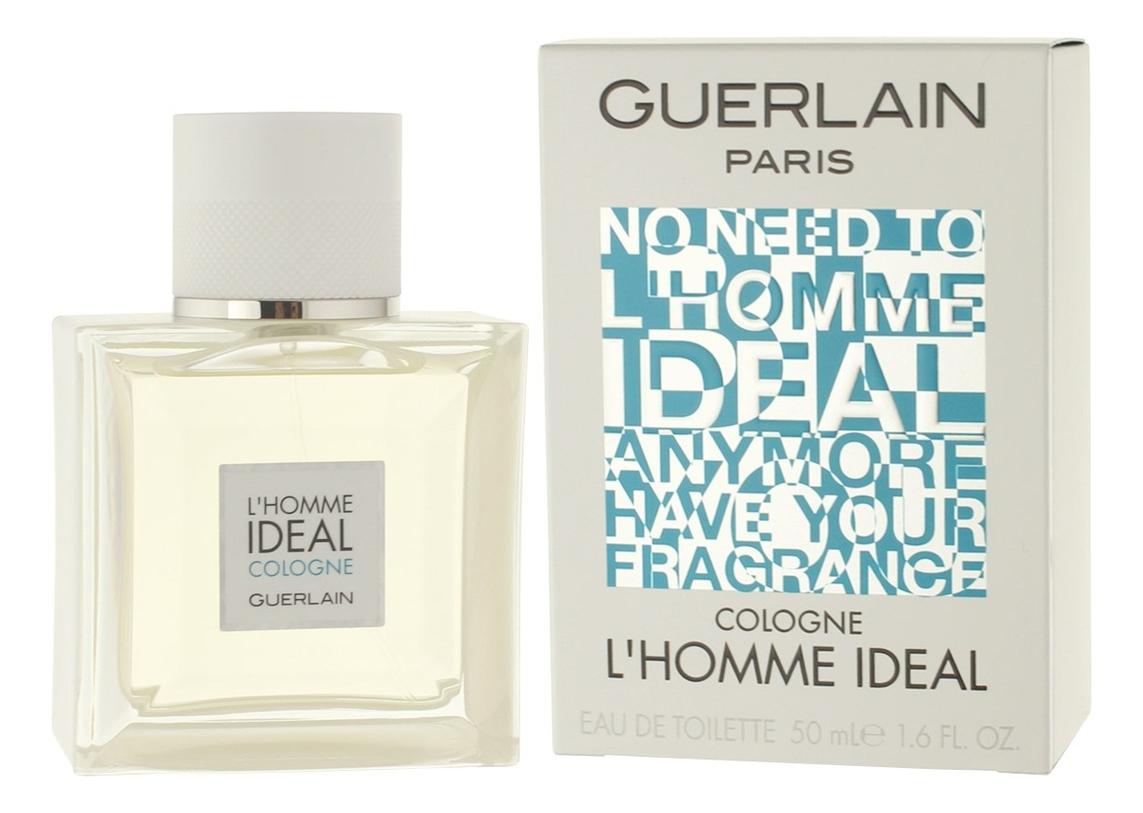 Guerlain L'Homme Ideal Cologne: туалетная вода 50мл guerlain samsara туалетная вода 50мл новый дизайн
