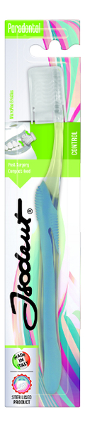 Зубная щетка для эффективной очистки десен Parodontal Control зубная щетка средней жесткости isodent medium 1 шт blanx isodent