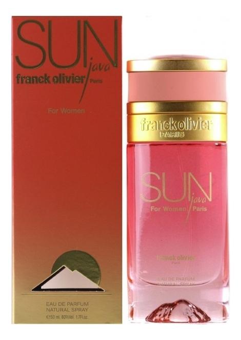 Franck Olivier Sun Java for Women: парфюмерная вода 50мл