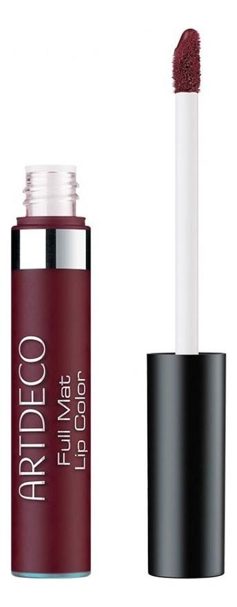 Помада для губ матовая Full Mat Lip Color 15,5мл: 30 Plum Noir smashbox always on liquid матовая помада для губ vino noir
