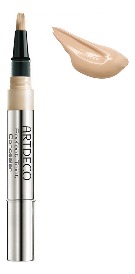 Консилер с кисточкой маскирующий Perfect Teint Concealer 2мл: 5 Light Peach консилер для лица teint correcteur 3г 04 peach