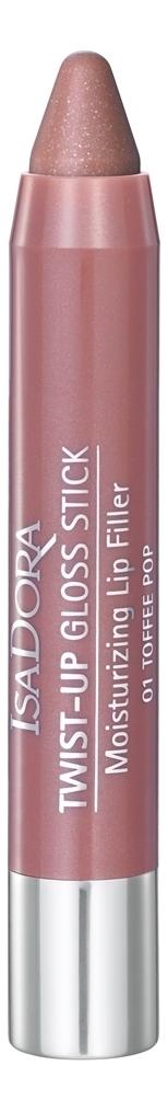 Фото - Блеск-карандаш для губ Twist-Up Gloss Stick 3,3г: 01 Toffe Pop clinique pop splash блеск для губ сияние и увлажнение 02 caramel pop