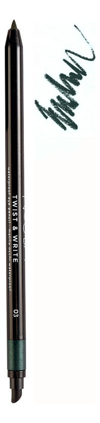Водостойкий карандаш для глаз Twist & Write Waterproof Eye Pencil 0,5г: No 03 водостойкий карандаш для глаз secretale deep eye pencil 0 2г no 2
