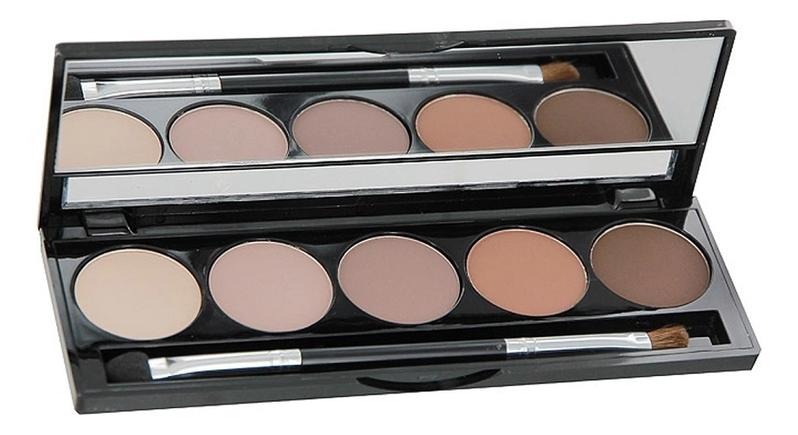 Палетка теней для век Eye Shadow Palette 7,5г: 50 Matte Chocolates