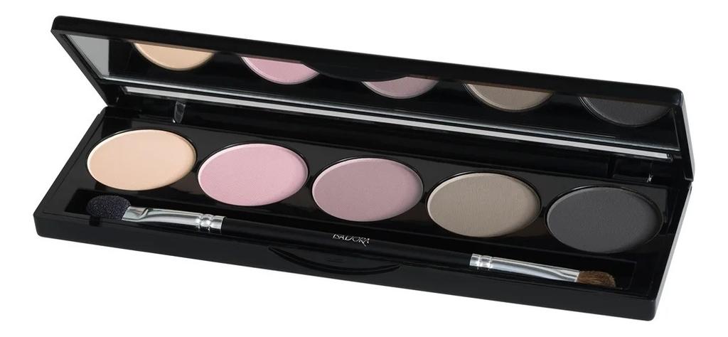 Палетка теней для век Eye Shadow Palette 7,5г: 59 Creamy Nudes clinique wear everywhere палетка теней для век nudes