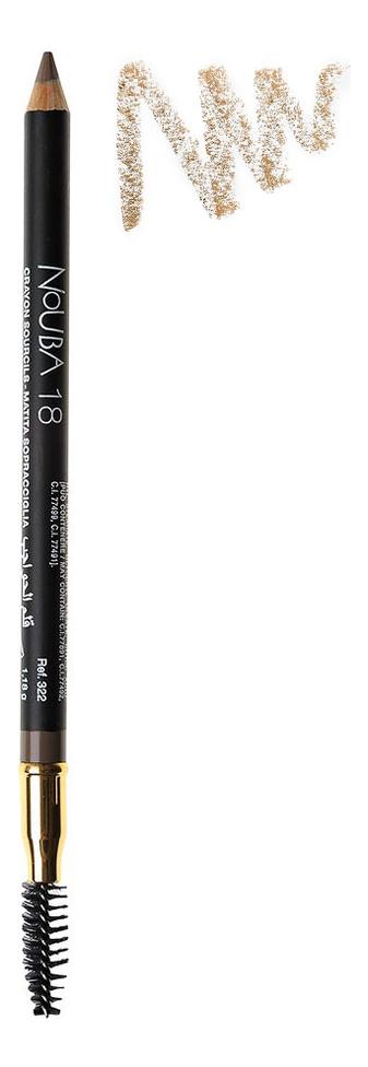 Карандаш для бровей со щеточкой Eyebrow Pencil With Applicator 1,18г: No 18 водостойкий карандаш для глаз secretale deep eye pencil 0 2г no 2