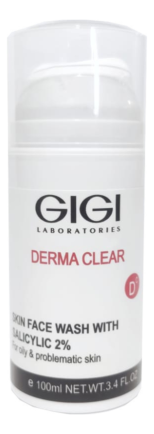 Очищающий мусс для лица Derma Clear Skin Face Wash 100мл: Мусс 100мл урьяж мусс очищающий