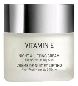 Фото - Ночной лифтинг крем для лица Vitamin E Night & Lifting Cream 50мл: Крем 50мл ногтивит усиленный крем 15мл