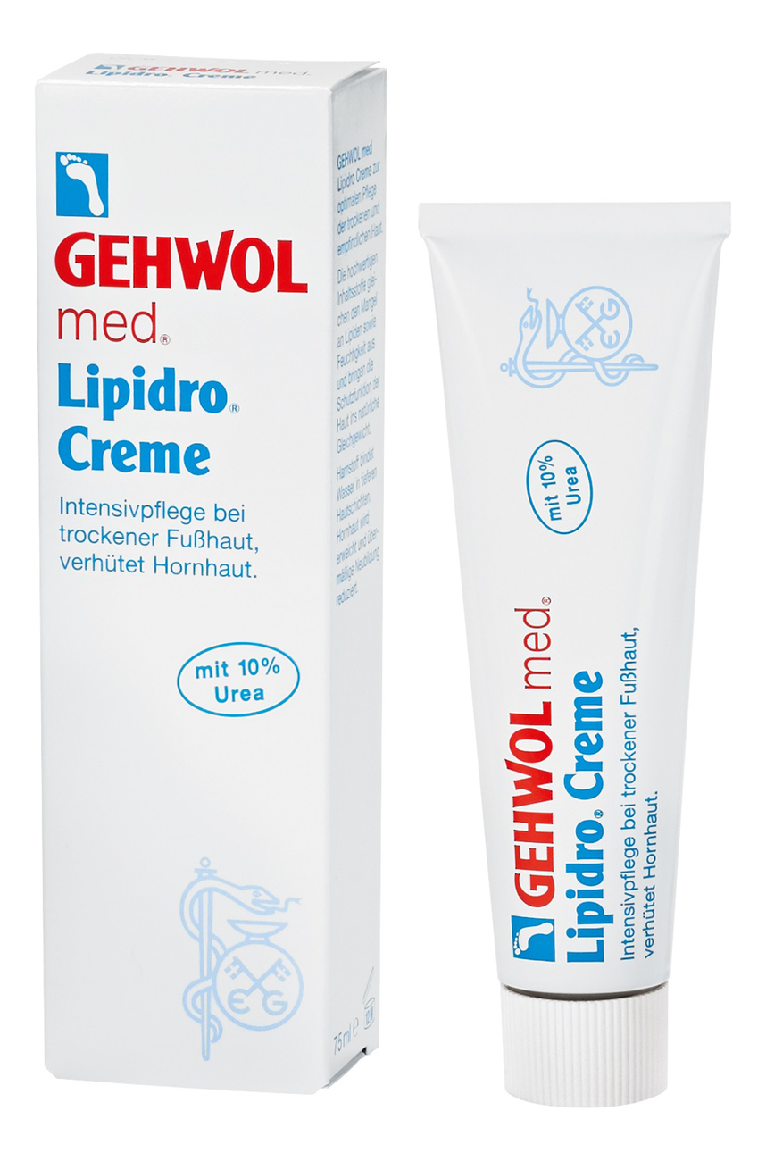 Крем гидро-баланс для ног Lipidro-Creme: Крем 75мл gehwol gehwol крем гидро баланс 125 мл